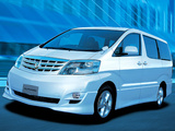 Toyota Alphard (H10W) 2002–08 pictures