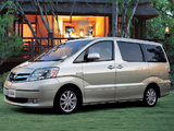 Toyota Alphard Hybrid (H10W) 2003–08 photos