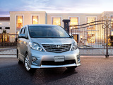 Toyota Alphard 240S (ANH20W) 2008–11 images
