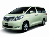 Toyota Alphard JP-spec (ANH20W) 2008–11 pictures