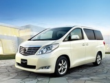 Toyota Alphard CN-spec (ANH20W) 2008–11 wallpapers
