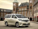 Toyota Alphard JP-spec (ANH20W) 2008–11 wallpapers