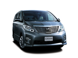 Toyota Alphard 240S Limited (ANH20W) 2009–11 images