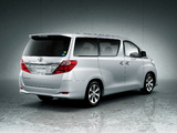 Toyota Alphard 240G (ANH20W) 2011 pictures