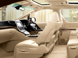 Toyota Alphard Hybrid G L Package 4WD (ANH25W) 2011 wallpapers