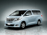 Toyota Alphard 240X (ANH20W) 2011 wallpapers
