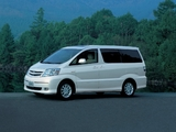 Toyota Alphard Hybrid (H10W) 2003–08 wallpapers