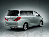 Toyota Alphard 240S (ANH20W) 2011 wallpapers