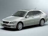Toyota Altezza Gita AS300 4WD L Edition (JCE15W) 2001–05 wallpapers