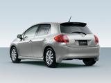 Images of Toyota Auris JP-spec 2006–09