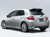 Images of Modellista Toyota Auris 2009–12