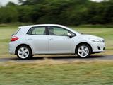 Images of Toyota Auris HSD UK-spec 2010–12