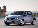 Images of Toyota Auris 2012