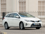 Images of Toyota Auris Touring Sports Hybrid UK-spec 2013