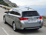 Images of Toyota Auris Touring Sports 2013