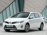 Images of Toyota Auris Touring Sports Hybrid UK-spec 2013