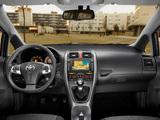 Photos of Toyota Auris 5-door 2010–12
