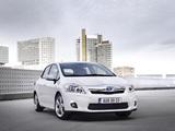 Photos of Toyota Auris HSD 2010–12