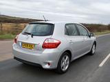 Photos of Toyota Auris 5-door UK-spec 2010–12