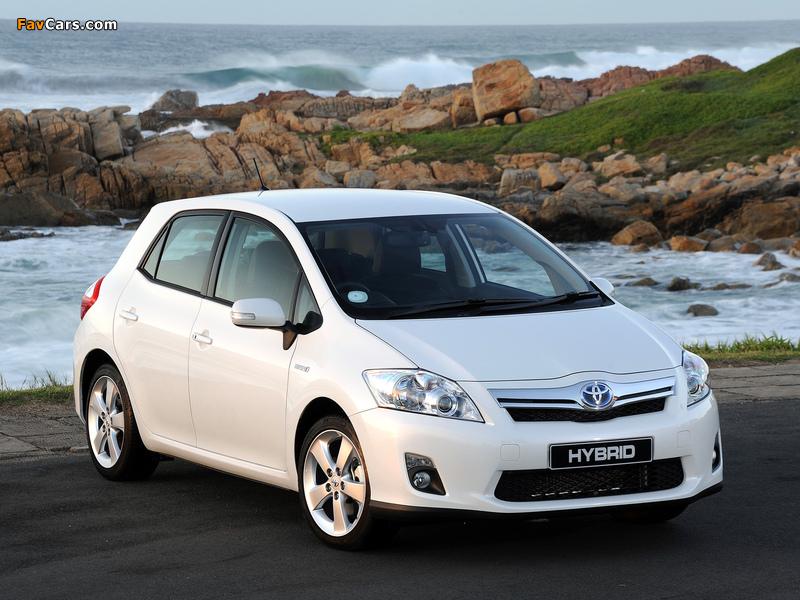 Photos of Toyota Auris HSD ZA-spec 2011 (800 x 600)