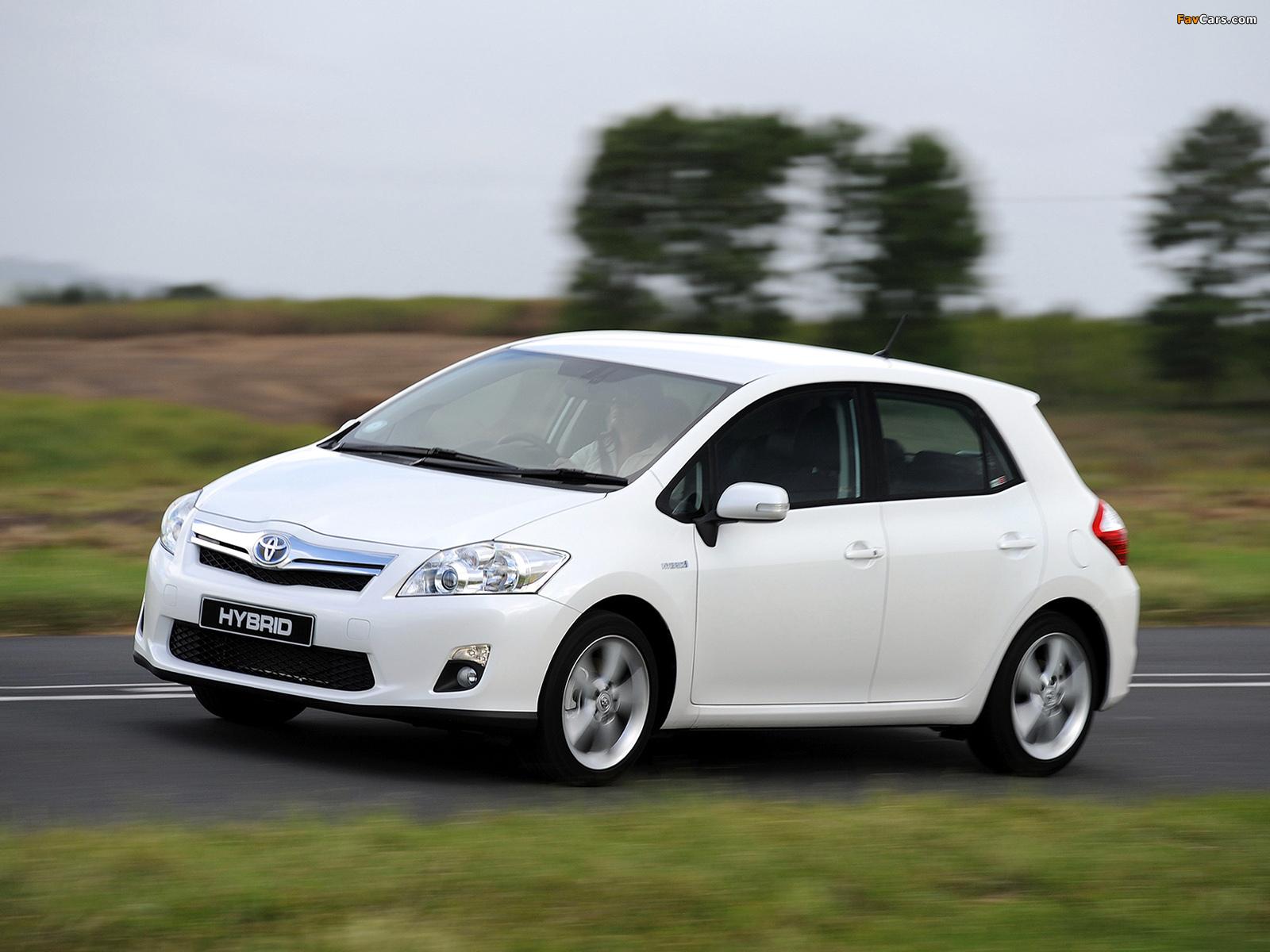 Photos of Toyota Auris HSD ZA-spec 2011 (1600 x 1200)
