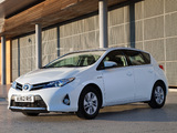 Photos of Toyota Auris Hybrid UK-spec 2012