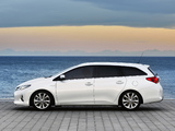 Photos of Toyota Auris Touring Sports Hybrid 2012