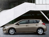 Photos of Toyota Auris 2012