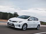 Photos of Toyota Auris Hybrid 2012