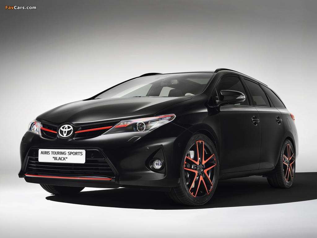 Photos of Toyota Auris Touring Sports Black Concept 2013 (1024 x 768)