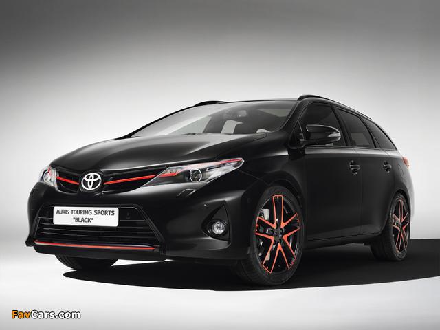 Photos of Toyota Auris Touring Sports Black Concept 2013 (640 x 480)