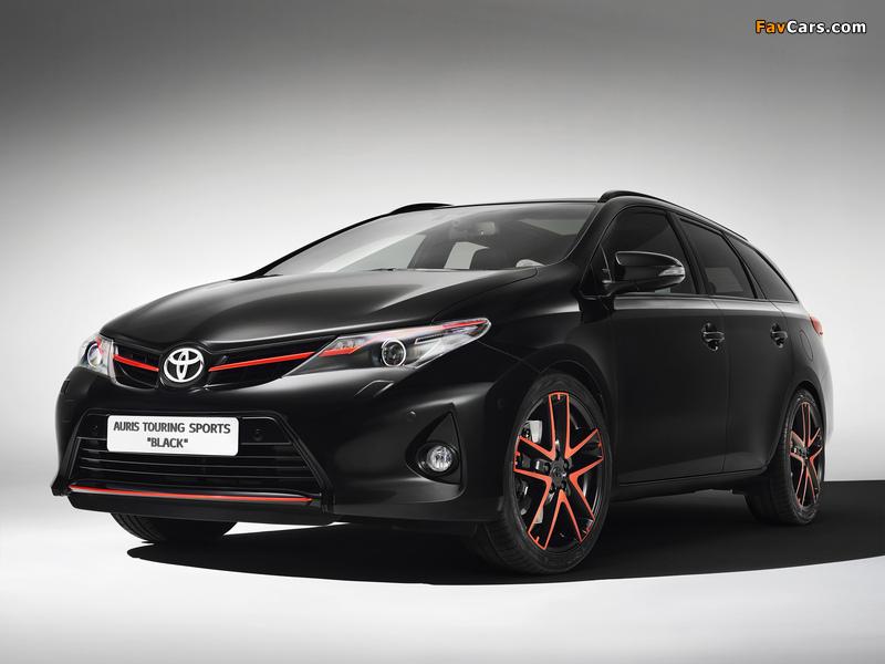 Photos of Toyota Auris Touring Sports Black Concept 2013 (800 x 600)