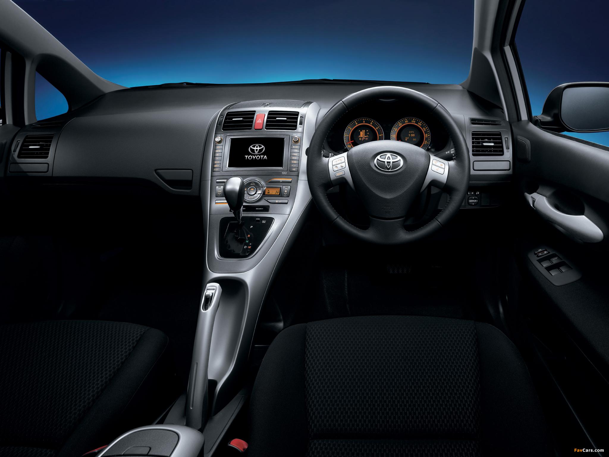 Pictures of Toyota Auris JP-spec 2006–09 (2048 x 1536)