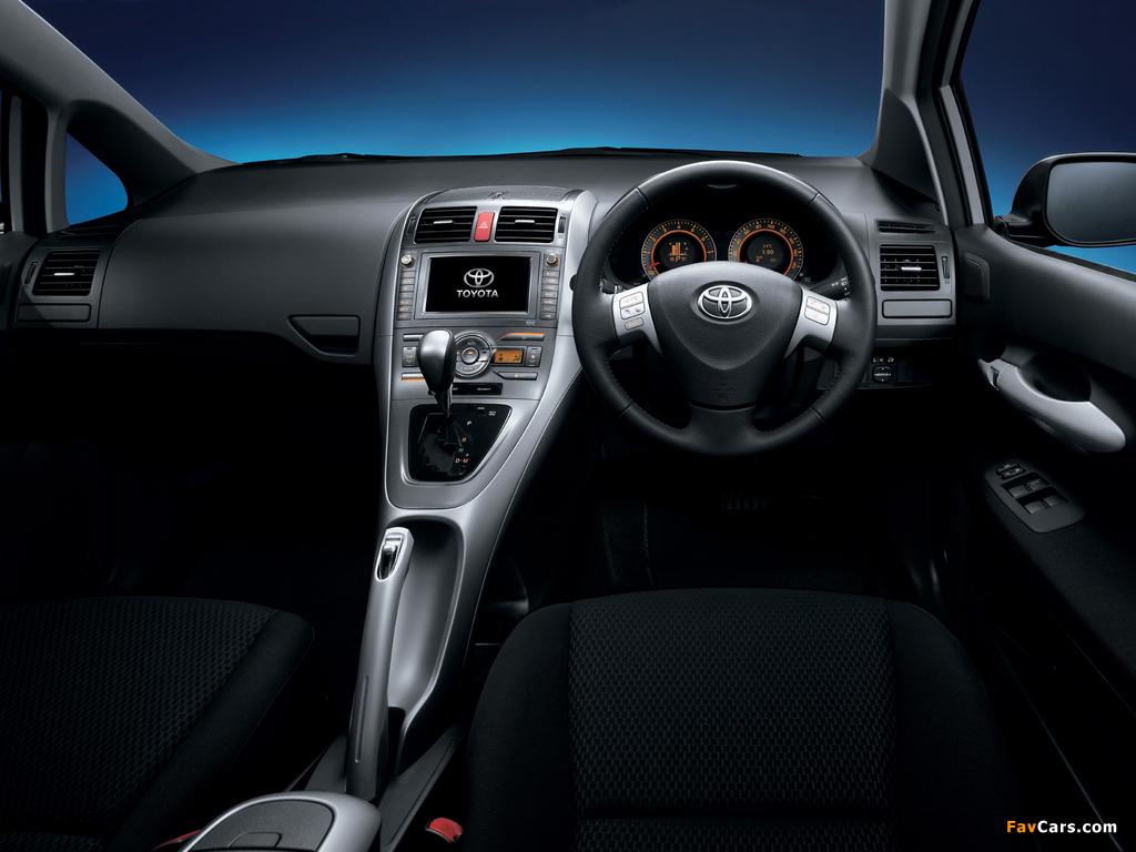 Pictures of Toyota Auris JP-spec 2006–09 (1024 x 768)