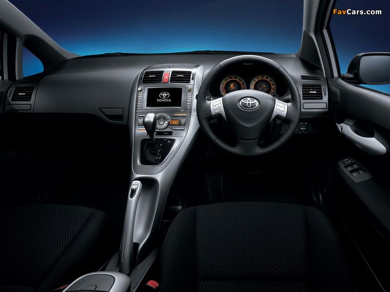 Pictures of Toyota Auris JP-spec 2006–09 (800 x 600)
