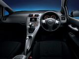 Pictures of Toyota Auris JP-spec 2006–09