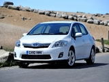 Pictures of Toyota Auris HSD UK-spec 2010–12