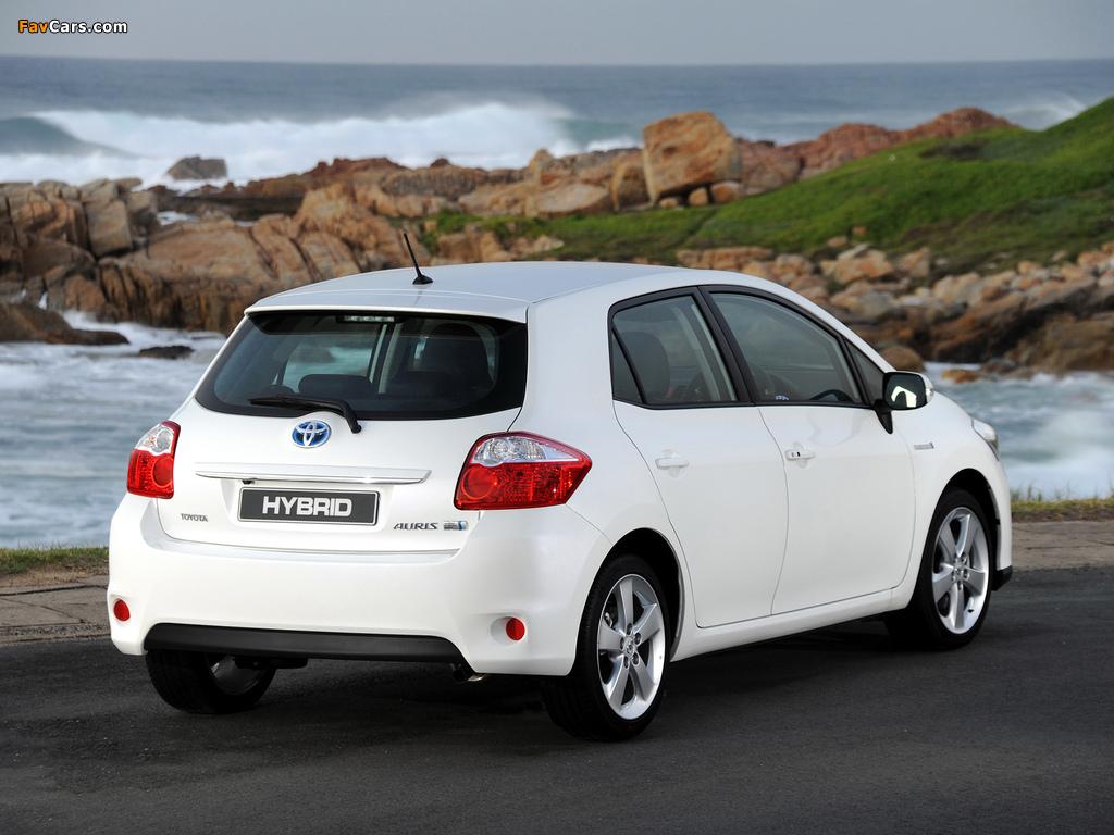 Pictures of Toyota Auris HSD ZA-spec 2011 (1024 x 768)