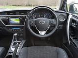 Pictures of Toyota Auris UK-spec 2012