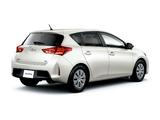 Pictures of Toyota Auris 180 G JP-spec 2012
