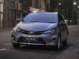 Pictures of Toyota Auris ZA-spec 2013
