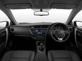 Pictures of Toyota Auris ZA-spec 2013