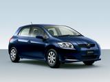 Toyota Auris JP-spec 2006–09 images