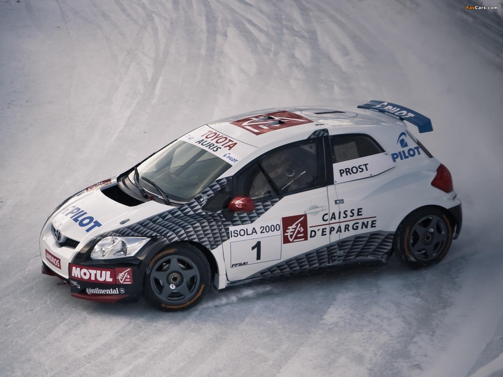 Toyota Auris Trophée Andros 2006 photos (1600 x 1200)