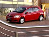 Toyota Auris 5-door ZA-spec 2007–10 images
