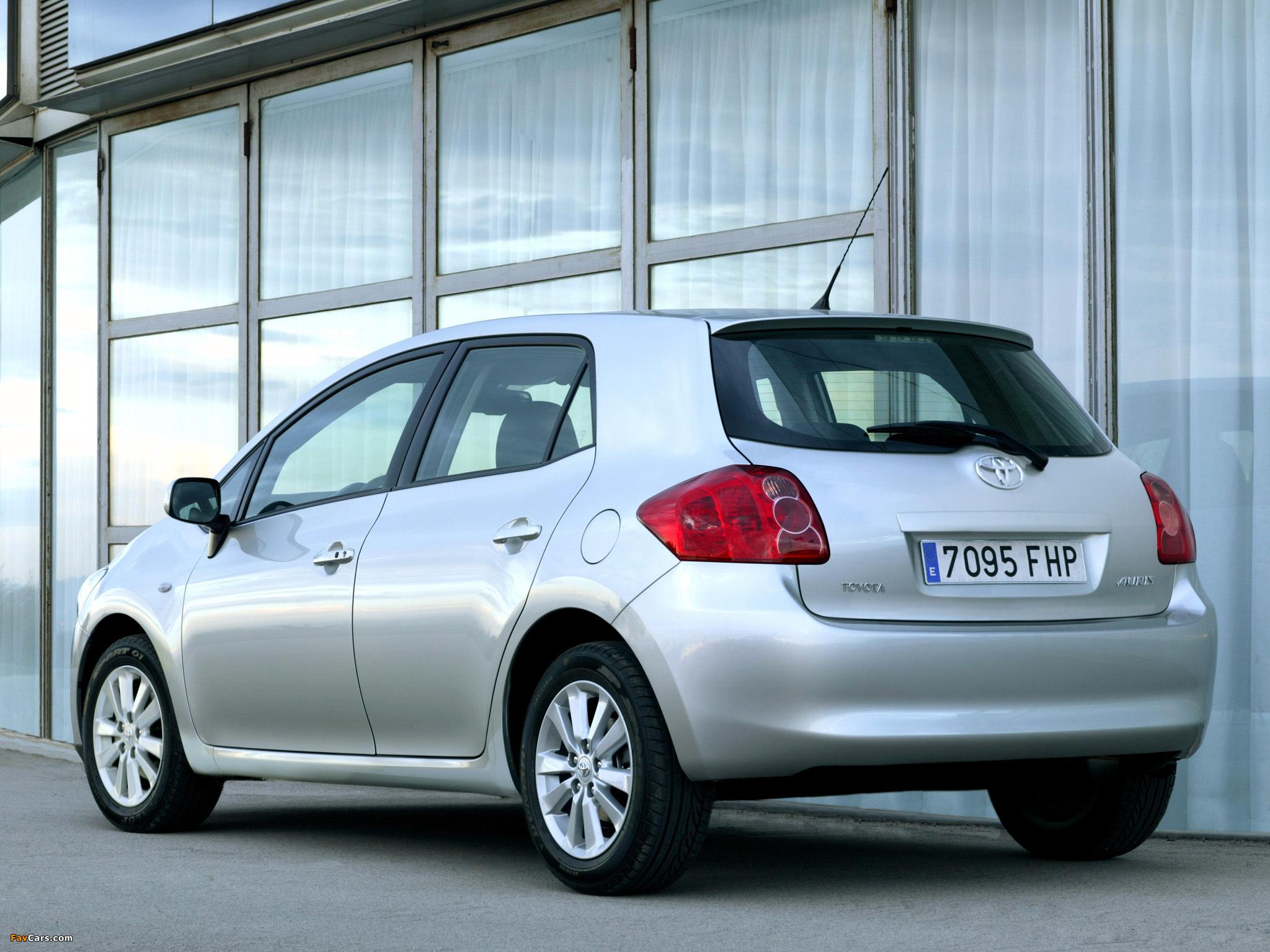 Toyota Аурис 1 6 технические характеристики #10