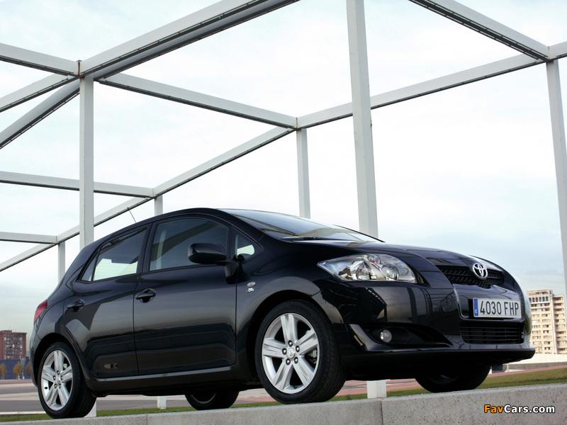 Toyota Auris 5-door 2007–10 photos (800 x 600)