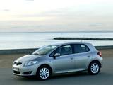 Toyota Auris 5-door 2007–10 wallpapers
