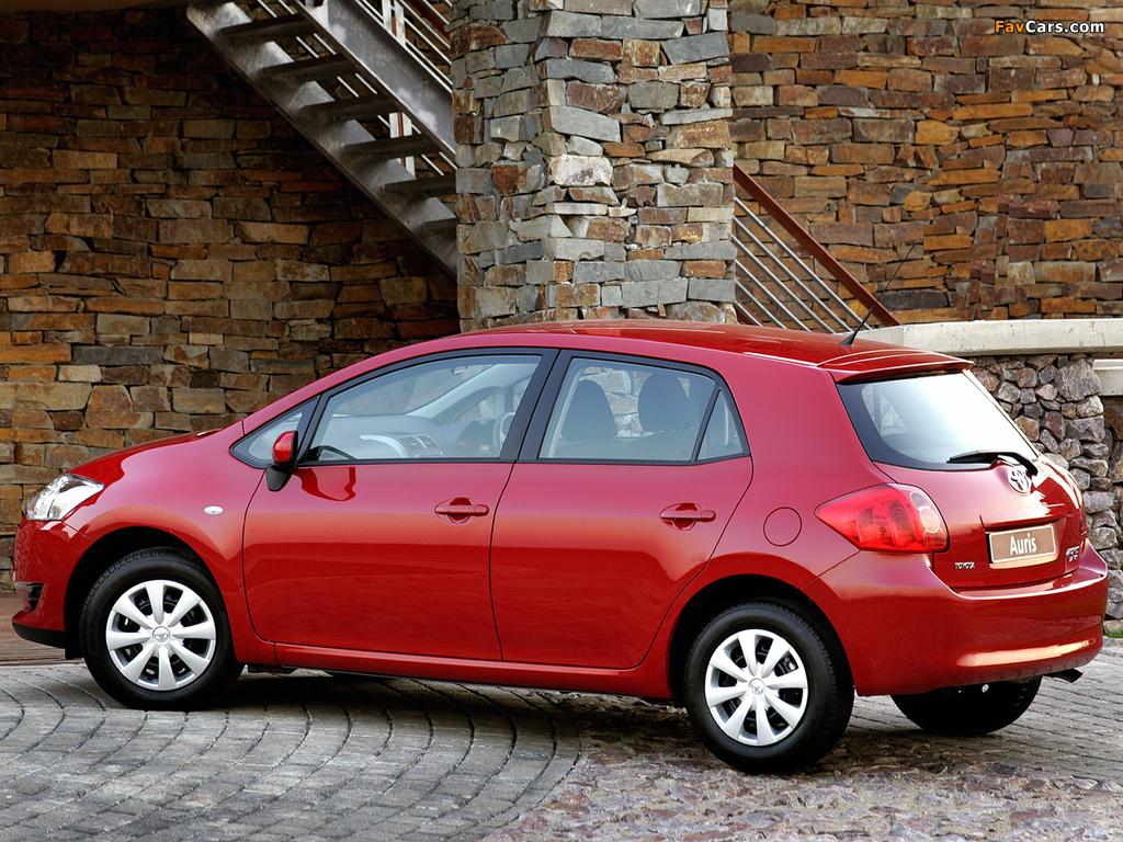 Toyota Auris 5-door ZA-spec 2007–10 wallpapers (1024 x 768)