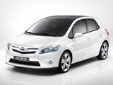 Toyota Auris HSD Full Hybrid Concept 2009 images